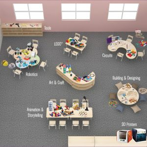 Classroom Furniture Set Up For Makerspace Inspiration & Build