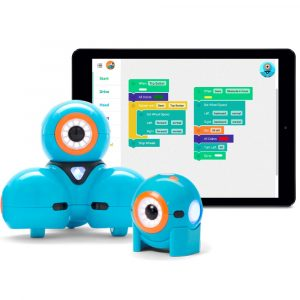 DashDot Robots With Ipad Program In Background