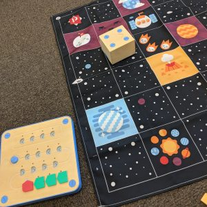 Cubetto Space Activity On Space Floor Mat