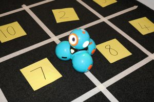 Dash Number Facts Activity On Grey Carpet Numbered Grid