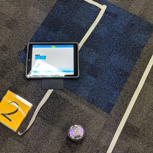 Sphero Ipad Activity On Carpeted Floor
