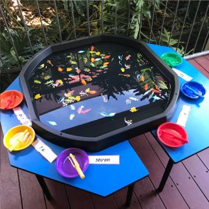 Number Fishing Active World Tray Activity Sea Life In Water