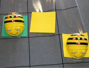 BeeBot Connection Addition And Subtraction Floor Grid With 2 Bots